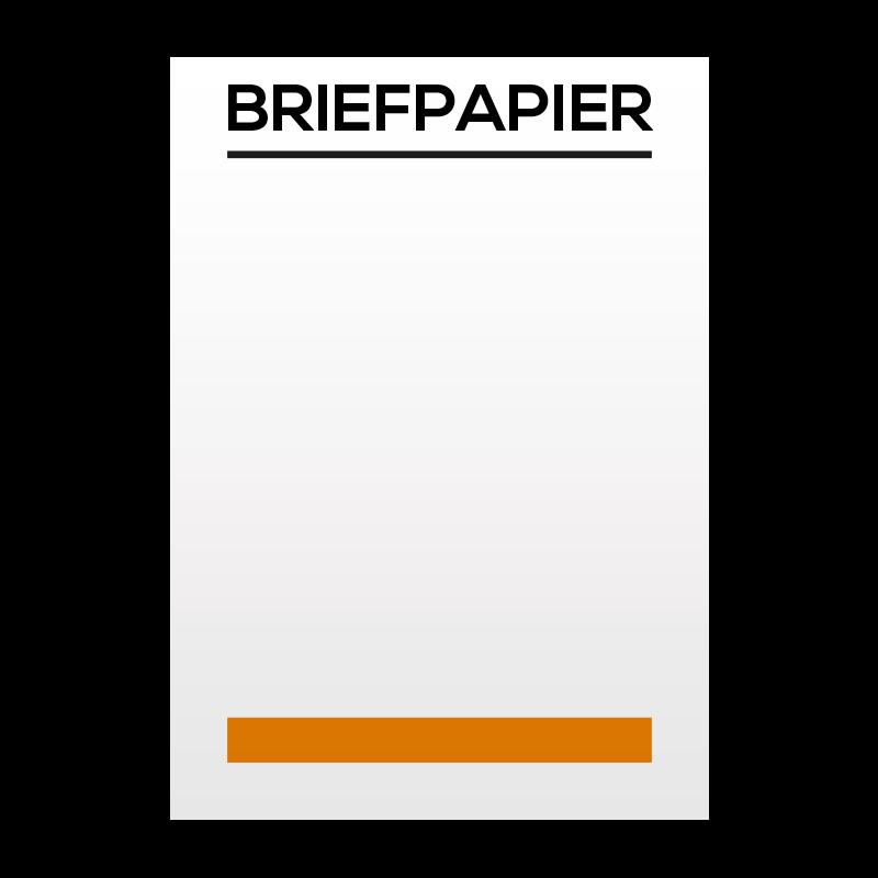 Briefpapier bedrukken