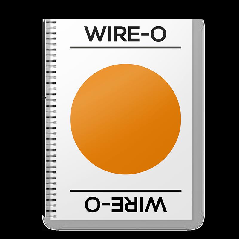 Brochure wire-O