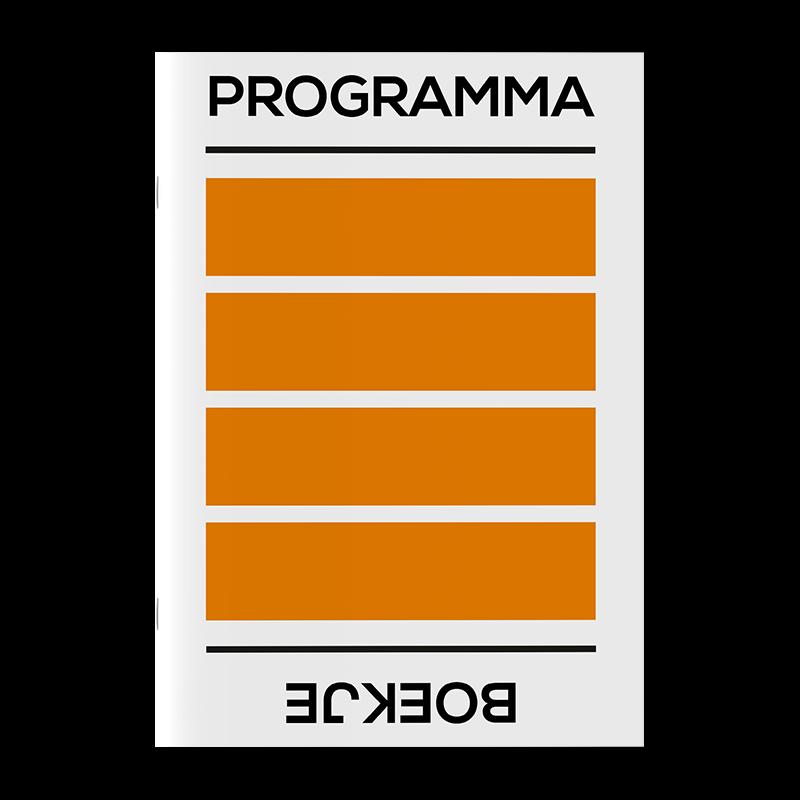 Programmaboekje